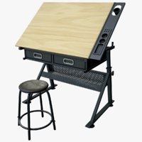 3D drawing board craft table