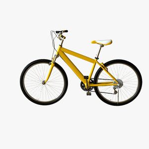 3d model of bicycle