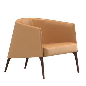 avenue road jackie lounge chair 3D model