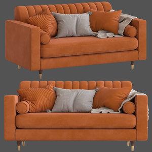 cult furniture belgravia 2-seater model