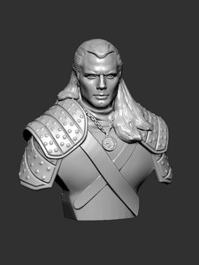3D witcher model