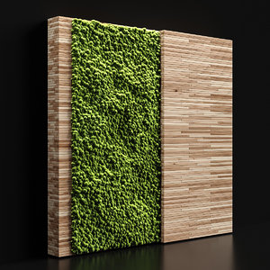 decoration moss 3D
