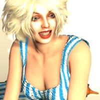 Jeane 3D Model FM CW
