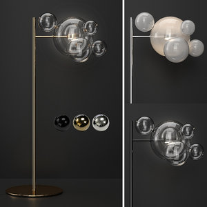 3D giopato coombes floor lamp model