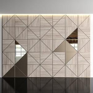 3D wall wood panels