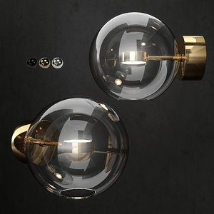 3D giopato coombes bolle wall lamp model