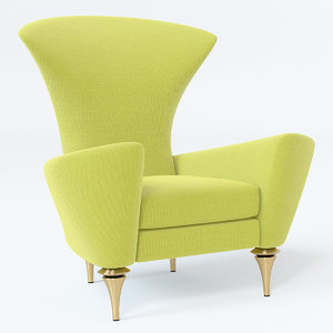 lexis modern chair 3D