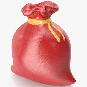 christmas bag figurine 2 3D model