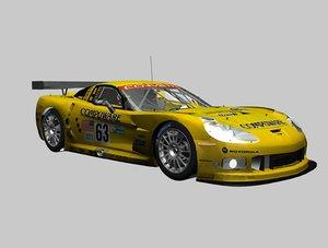 corvette c6 3D model