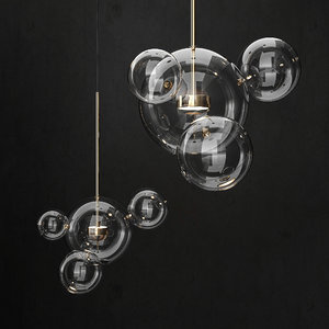 giopato coombes bolle chandelier 3D model