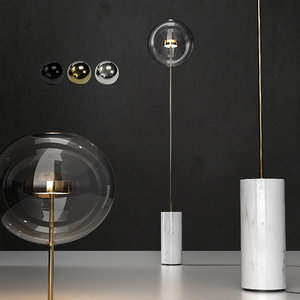 floor lamp bolle soffio 3D model