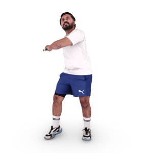 indian badminton player model