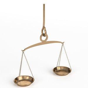 handheld balance scale model