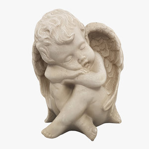 3D scan angel statue