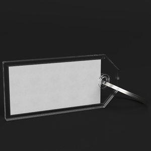 heavy duty key tag 3D model