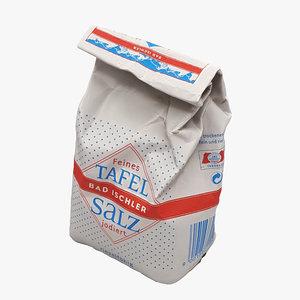scan bag salt 3D model
