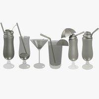 cocktails v3 3D