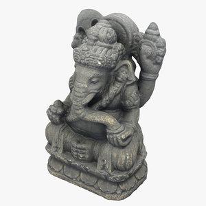 ganesha figurine model