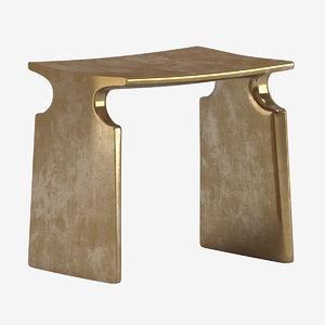 3D david ebner renwick stool