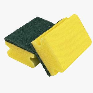 3D new sponge model