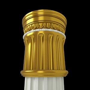 column architecture 3D