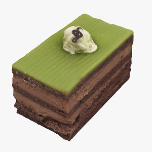 cake opera 3D model