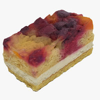 3D fruit cake