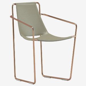midj apelle p armchair 3D model