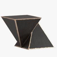 3D model mauro mori piramidi table
