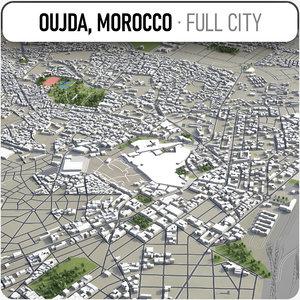 3D oujda surrounding -