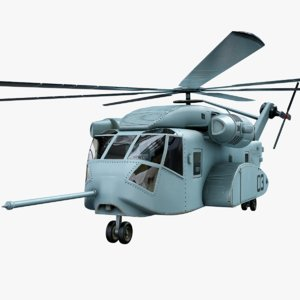 realistic helicopter ch-53k 3D