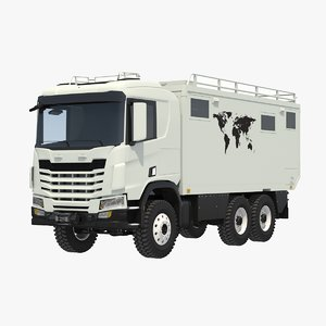 3D generic expedition 6x6 rv model