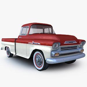 generic pickup - truck 3D