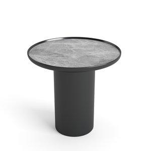 custom table plastic base 3D model