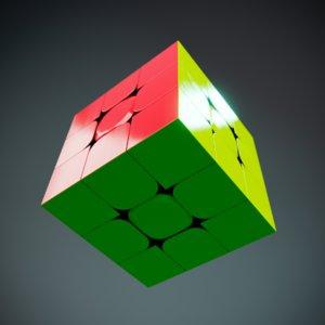 rubick s cube 3D