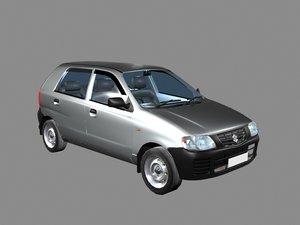 3D alto car