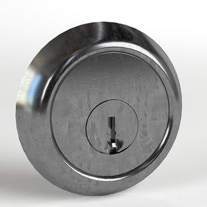 3D key hole model