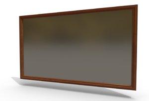 decorative mirror 3D model