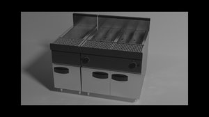 fries cooker model
