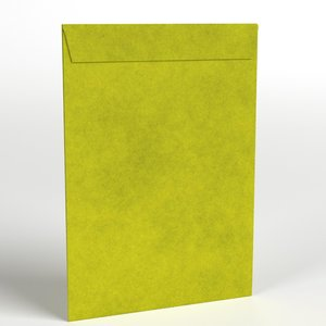 large yellow envelope 3D model