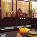 chinese altar 3D model
