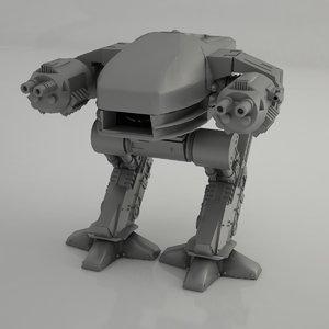 3D robot -