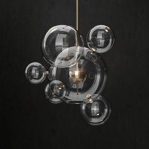 giopato coombes bolle chandelier 3D