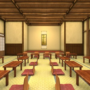 3D japan banquet venue