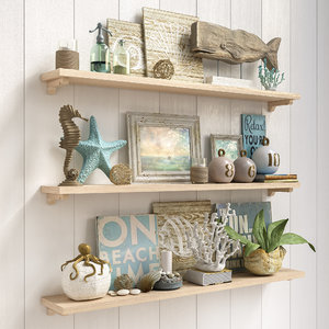 sea decor 3D