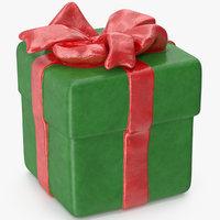 gift box figurine 3 3D