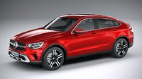 mercedes-benz glc coupe 3D model