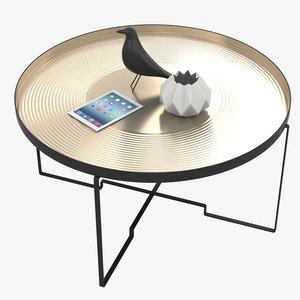 sidetable table 3D