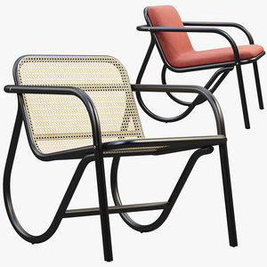 3D model n 200 lounge chair