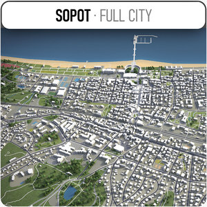 sopot surrounding - model